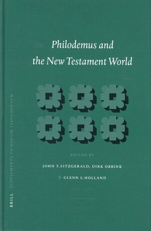 Cover Philodemus and the New Testament World