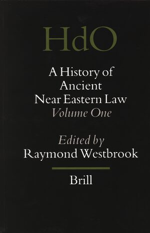 Cover A History of Ancient Near Eastern Law
