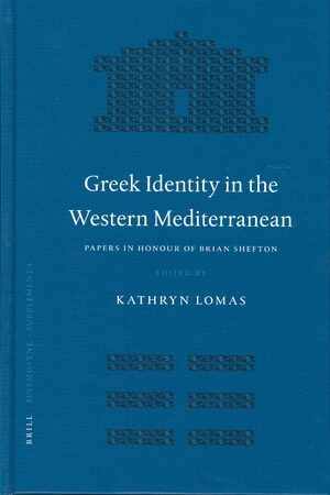Cover Greek Identity in the Western Mediterranean