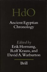 Cover Ancient Egyptian Chronology
