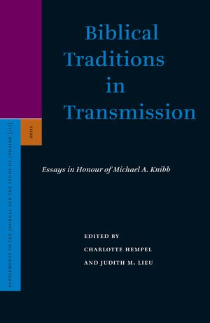 Cover Biblical Traditions in Transmission