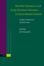 Cover The New Testament and Early Christian Literature in Greco-Roman Context