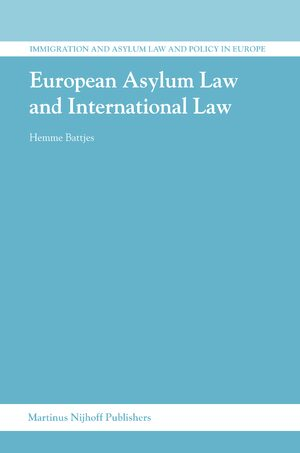 Cover European Asylum Law and International Law