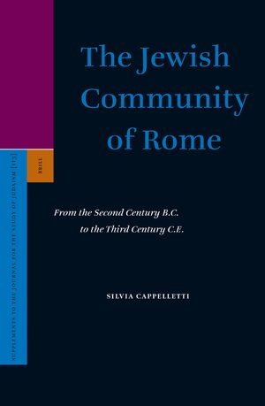 Cover The Jewish Community of Rome