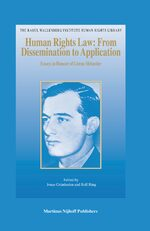 Cover Human Rights Law: From Dissemination to Application