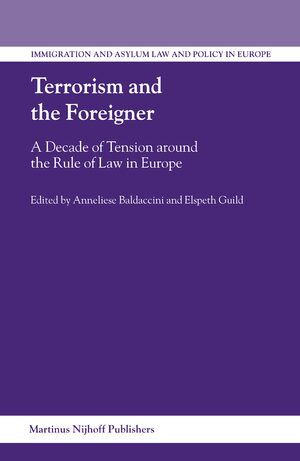 Cover Terrorism and the Foreigner