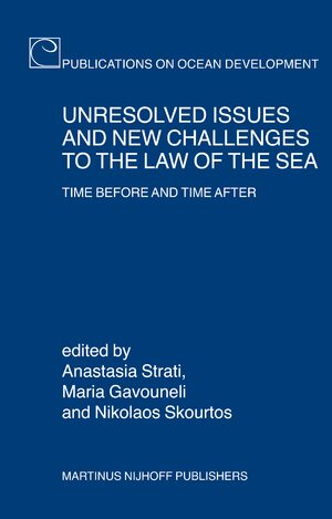 Cover Unresolved Issues and New Challenges to the Law of the Sea