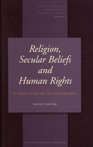 Cover Religion, Secular Beliefs and Human Rights
