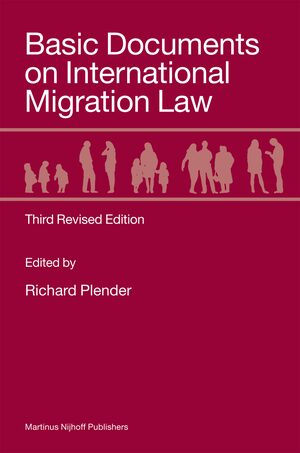 Cover Basic Documents on International Migration Law