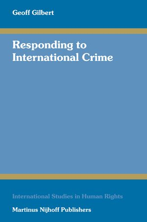 Cover Responding to International Crime