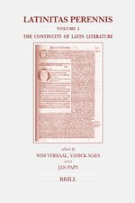 Cover Latinitas Perennis. Volume I: The Continuity of Latin Literature