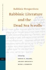 Cover Rabbinic Perspectives: Rabbinic Literature and the Dead Sea Scrolls
