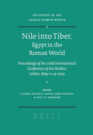 Cover Nile into Tiber: Egypt in the Roman World
