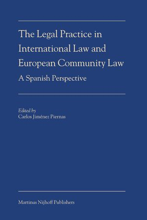 Cover The Legal Practice in International Law and European Community Law