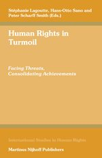 Cover Human Rights in Turmoil