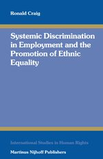 Cover Systemic Discrimination in Employment and the Promotion of Ethnic Equality