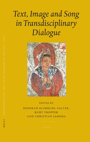 Cover Proceedings of the Tenth Seminar of the IATS, 2003. Volume 7: Text, Image and Song in Transdisciplinary Dialogue