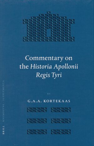 Commentary on the <i>Historia Apollonii Regis Tyri</i>