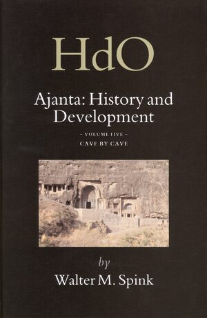 Cover Ajanta: History and Development, Volume 5 Cave by Cave