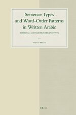 Cover Sentence Types and Word-Order Patterns in Written Arabic