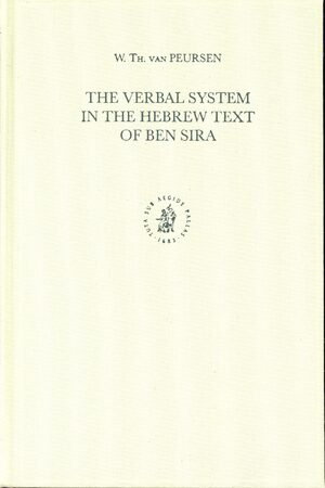 Cover The Verbal System in the Hebrew Text of Ben Sira