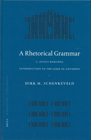 Cover A Rhetorical Grammar