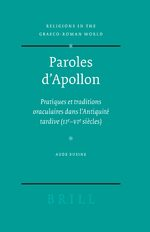 Cover Paroles d'Apollon