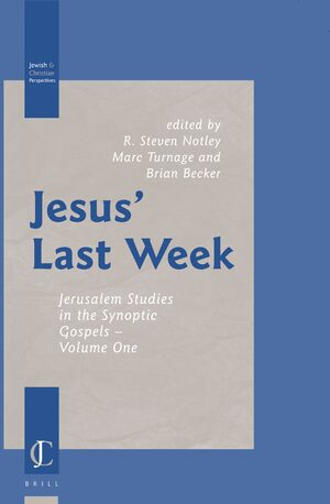 Cover Jesus' Last Week