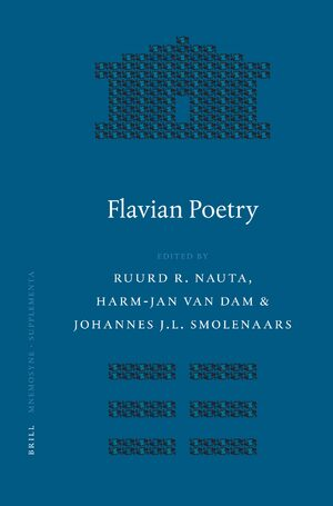 Cover Flavian Poetry