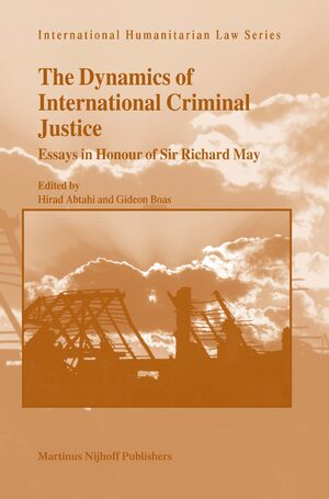 Cover The Dynamics of International Criminal Justice