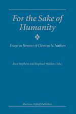 Cover For the Sake of Humanity