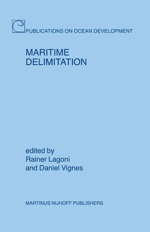 Cover Maritime Delimitation
