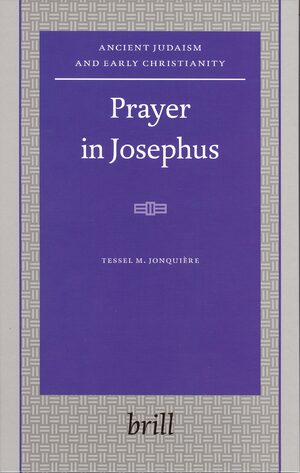 Cover Prayer in Josephus