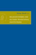 Cover Religion inside and outside Traditional Institutions