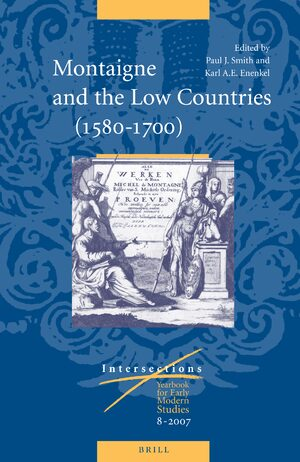 Cover Montaigne and the Low Countries (1580-1700)