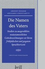Cover Die Namen des Vaters