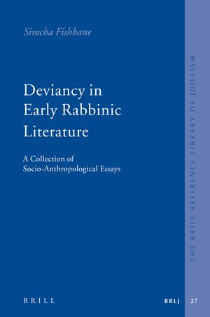 Cover Deviancy in Early Rabbinic Literature