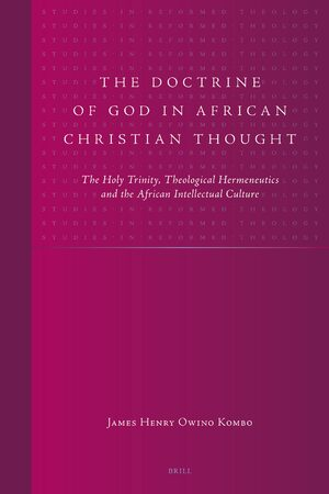 Cover The Doctrine of God in African Christian Thought