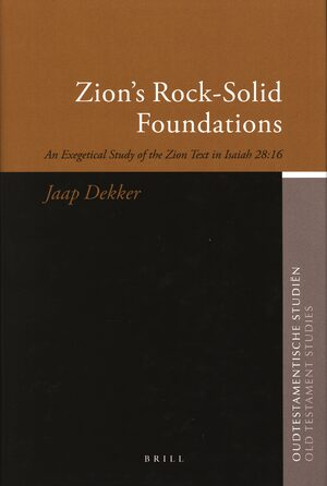 Cover Zion's Rock-Solid Foundations