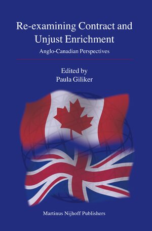 Cover Re-examining Contract and Unjust Enrichment