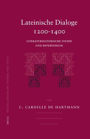 Cover Lateinische Dialoge 1200-1400