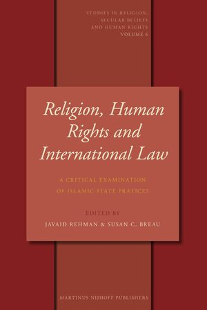 Cover Religion, Human Rights and International Law