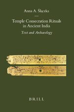 Cover Temple Consecration Rituals in Ancient India