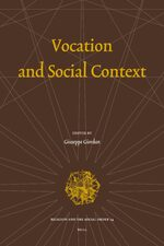 Vocation and Social Context
