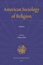 Cover American Sociology of Religion