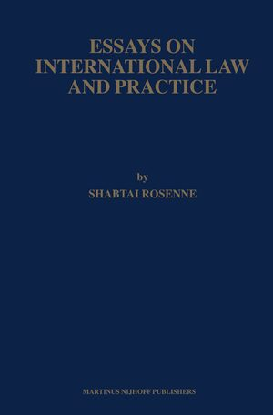 Essays On International Law And Practice Cover Essays On International Law And Practice
