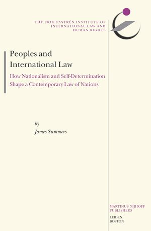 Cover Peoples and International Law