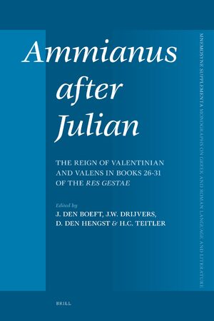 Cover Ammianus after Julian
