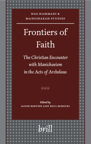 Cover Frontiers of Faith