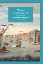 Cover Russian Commercial Law
